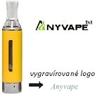 Clearomizer EVOD BCC Anyvape Yellow 2,2ohm 1,6ml