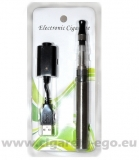E-cigareta eGo CE 4 start set 1100 mAh, 1ks stříbrná