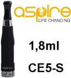 Clearomizer aSpire CE5-S BDC 1,8ohm 1,8ml Black