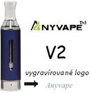 Clearomizer Anyvape EVOD BCC V2 2,1ohm 1,6ml Blue