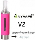 Clearomizer Anyvape EVOD BCC V2 2,1ohm 1,6ml Pink