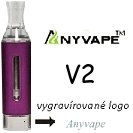 Clearomizer Anyvape EVOD BCC V2 2,1ohm 1,6ml Purple