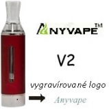 Clearomizer Anyvape EVOD BCC V2 2,1ohm 1,6ml Red
