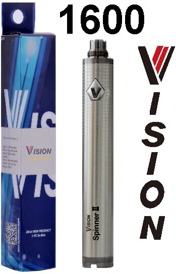 Baterie VISION Spinner 2 -Twist- 1600 mAh Silver